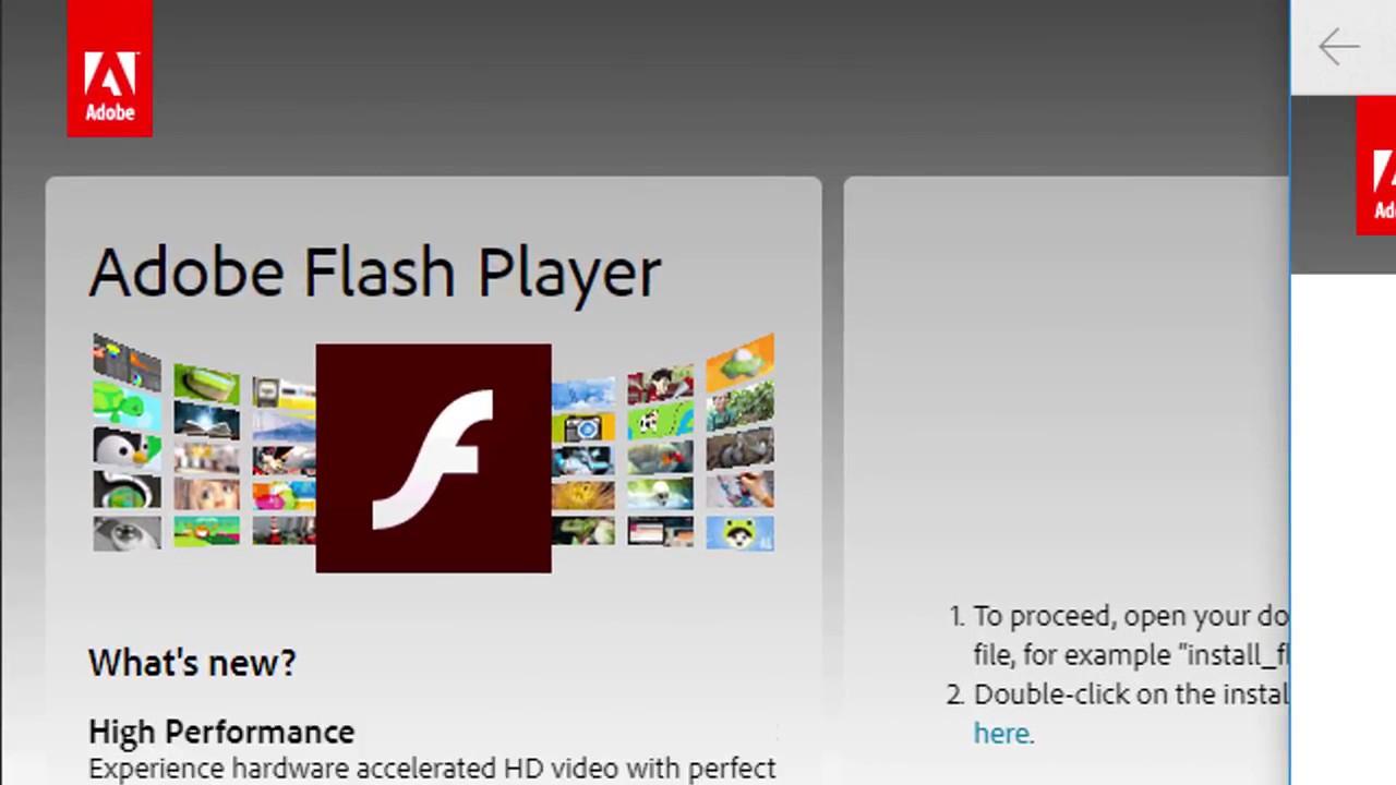 add adobe flash player to chrome