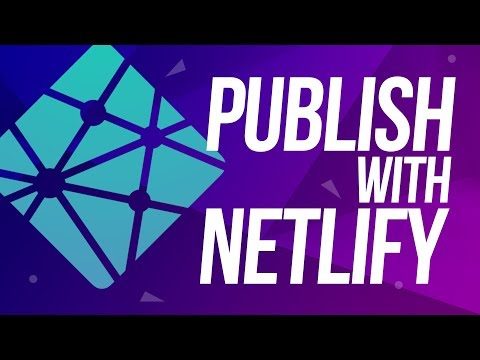How To Publish Your Website For FREE Using Netlify