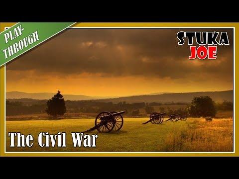 The Civil War: Playthrough 1861 Scenario (Turn 1 of 3)