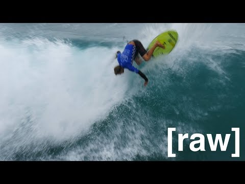 raw footage VANS US OPEN OF SURFING 2017