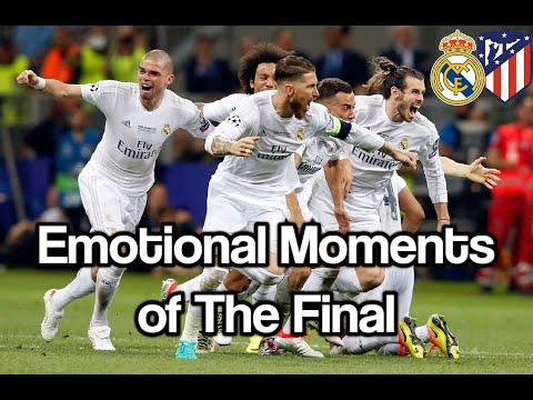 Real Madrid VS Atletico Madrid Emotional Moments