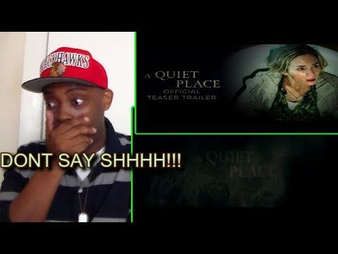 Thumbnail: A Quiet Place Official Trailer #1 REACTION!!!