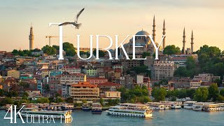 TURKEY 4K • Amazing Istanbul, Cappadocia, Pamukkale & Turkey natural beauty with Relaxing Music