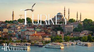 Турция 4K - удивительный Стамбул, Каппадокия, Памуккале и природная красота Турции | Turkey