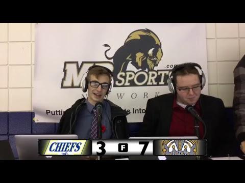 Yellowhead Chiefs vs Brandon Wheat Kings