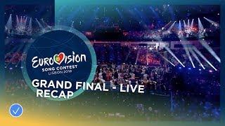 Recap of all the songs performed at the Grand Final of the 2018 Eurovision Song Contest