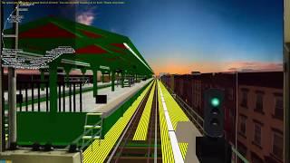 OpenBVE New York MTA F train Local H5