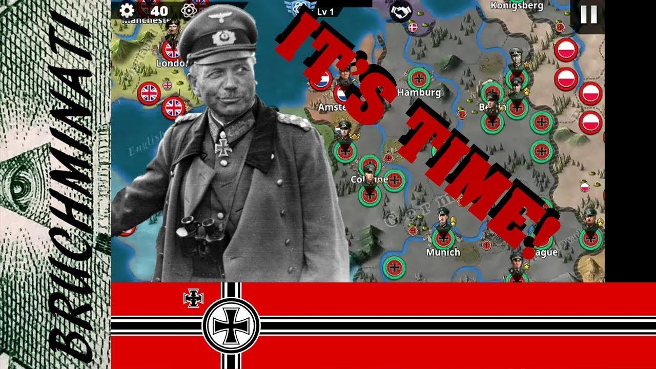 World Conqueror 4 | Germany 1939 Conquest #1 No Generals No Tech Level  Increase WW2 Begins!