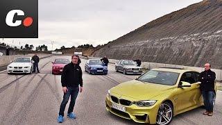BMW M3 / M4: E30, E36, E46, E92, F82 | Prueba Comparativa / Review en español | coches.net