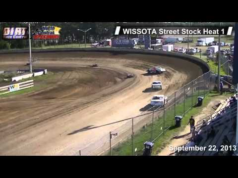 North Central Speedway 9 22 13 WISSOTA Street Stock Races