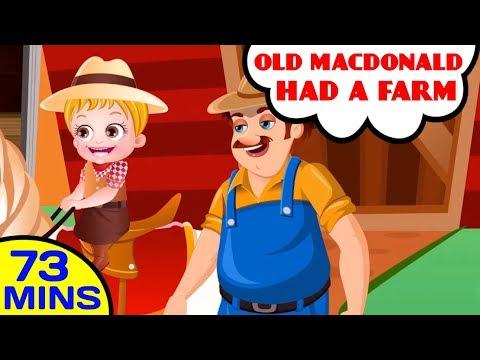 Old MacDonald Had a Farm | More Nursery Rhymes & Kids Songs by Baby Hazel Nursery Rhymes
