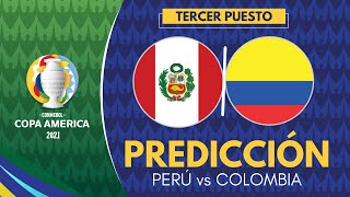 PERÚ vs COLOMBIA | Copa América 2021 [Tercer Lugar] Previa, Predicción y Pronóstico