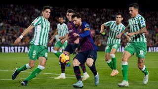 HAT-TRICK DE LEO MESSI !! 1 Betis vs Barcelona 4