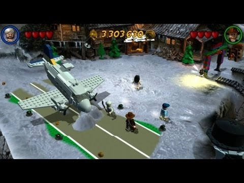 LEGO Indiana Jones 2 100% Walkthrough Part 25 - Raiders of the Lost Ark Hub Collectibles