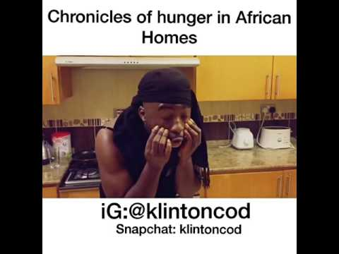 Klintoncod Chronicles of hunger in Africa homes