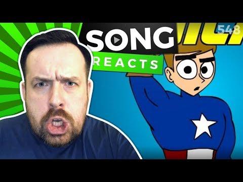 Reaction: Marvel Musical | Marvel Song