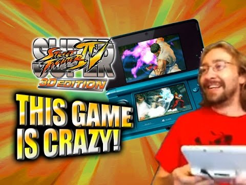 THIS GAME IS CRAZY! Max's Nintendo 3DS Super SF4 Adventure - Part 1