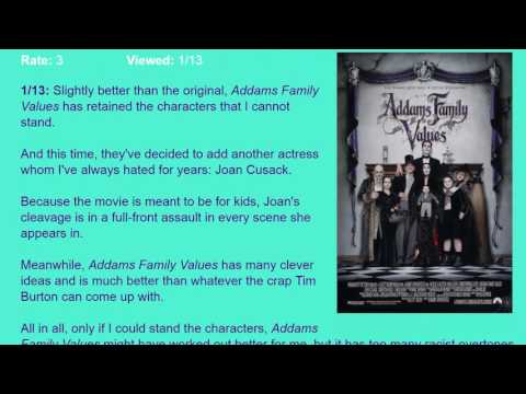 Movie Review: Addams Family Values (1993) [HD]