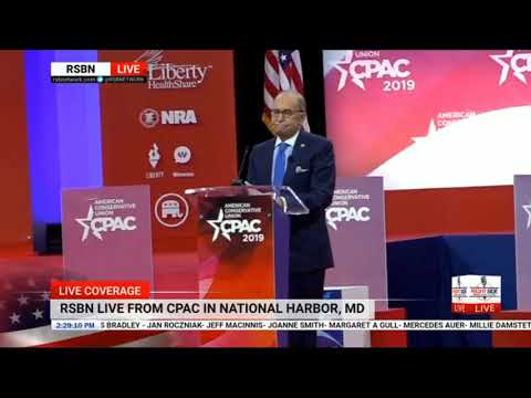 White House Economic Adviser Larry Kudlow at CPAC 2019