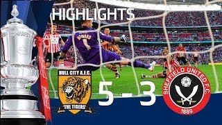 HULL CITY VS SHEFFIELD UNITED 5-3 Goals and highlights FA Cup Semi Final HD