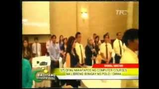 """375 OFWs Graduate from 9th Microsoft """"Tulay"""" Project in Qatar.avi"""
