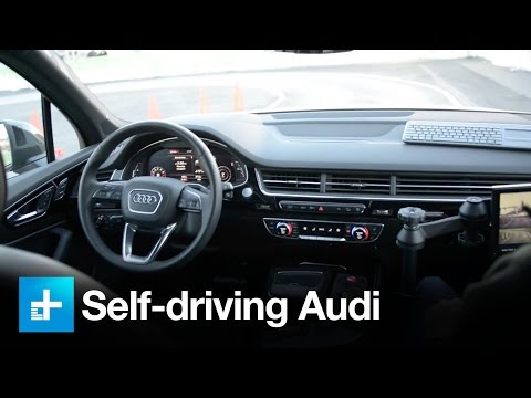 Self-driving Audis of 2020 will be powered by Nvidia artificial intelligence