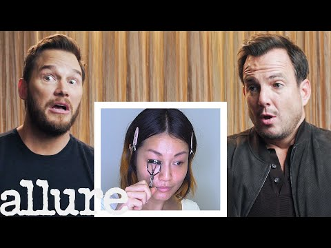 Chris Pratt and Will Arnett Narrate A Makeup Tutorial | Allure thumbnail