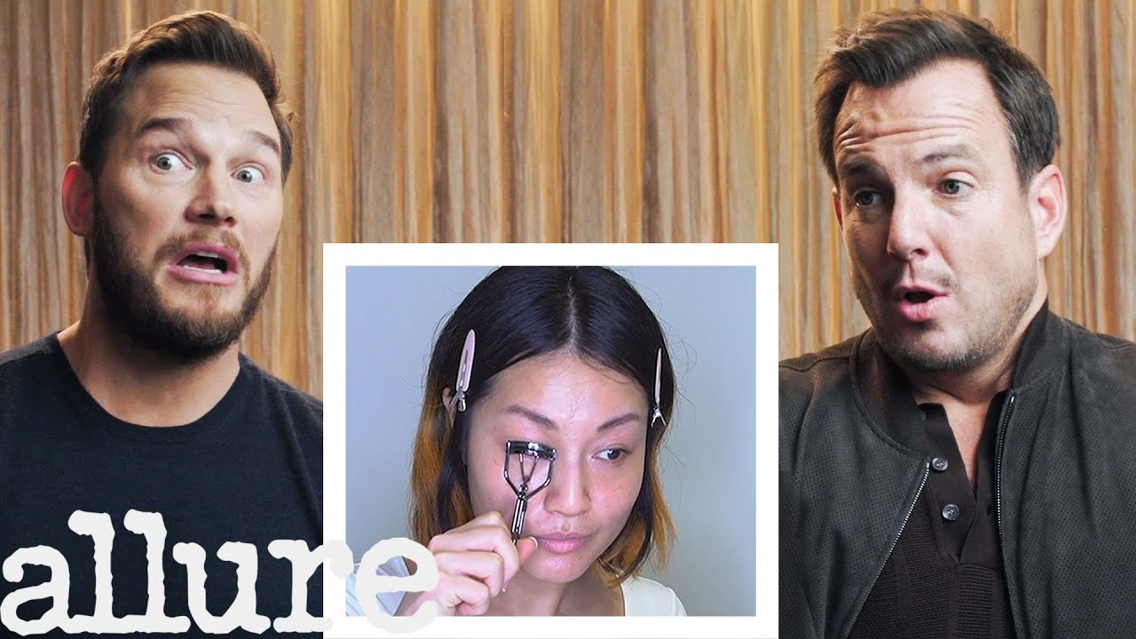 Chris Pratt and Will Arnett Narrate A Makeup Tutorial | Allure