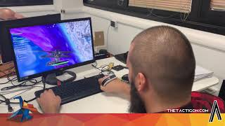 Fortnite powered with Tactigon Skin gesture controller