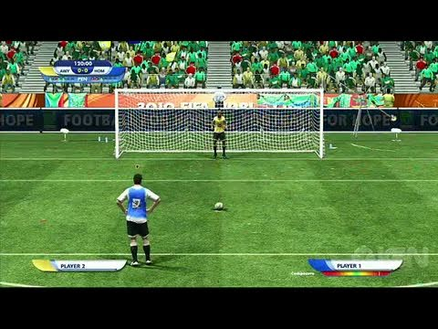 2010 FIFA World Cup South Africa Xbox 360 Video  Penalty