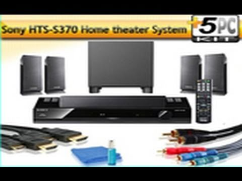 unboxing sony ht ss370 home theatre 5 1 surround sound. Black Bedroom Furniture Sets. Home Design Ideas