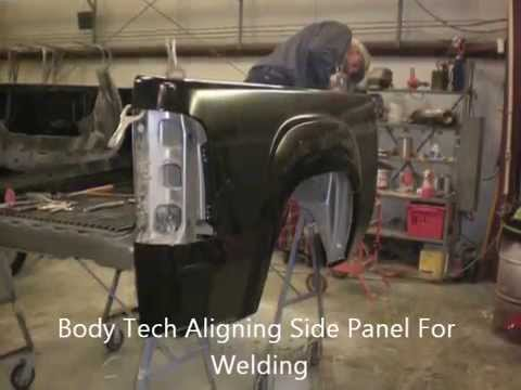 Bedside panel replacement - YouTube