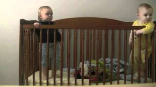 Twin Baby Escapes Crib (voiceover)