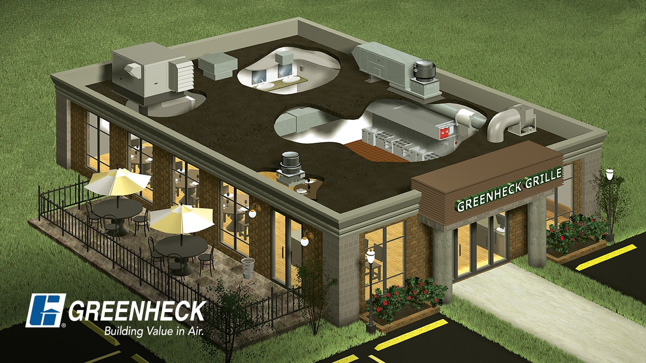 greenheck restaurant and commercial kitchen ventilation systems