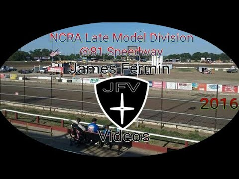 NCRA Late Model Feature #2, 81 Speedway