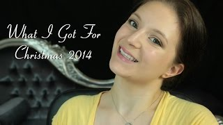 What I Got For Christmas 2014 and my Christmas Giveaway Winner Thumbnail