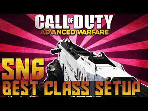 COD AW: INSANE Best SN6 Class Setup ( Call to Duty Advanced Warfare Best Class Setup)