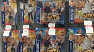 huge wall of wwe toys toys r us toy hunting