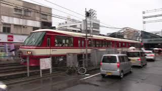 西鉄8000形電車『ラストラン』井尻駅通過 通常撮影