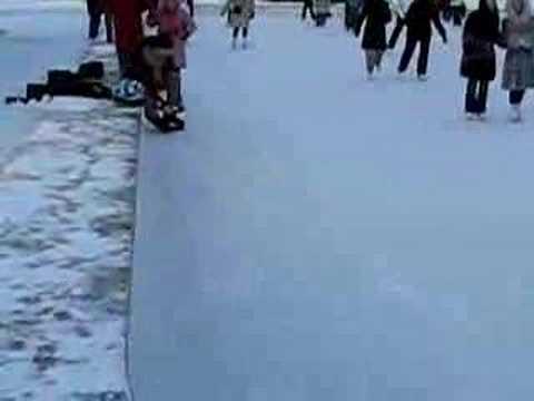 Jääpuisto - Ice Park in Helsinki, Finland