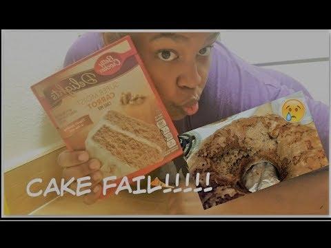 HOW TO BAKE A CAKE- FAIL!!!!