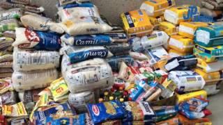 Raízen entrega alimentos ao Fundo Social de Piracicaba