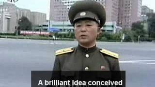 Pyongyang Traffic Girls From The Sky