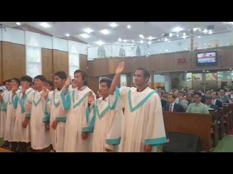 Migrants World Vision Center  Baptism 이주민다문화 세례식(3)