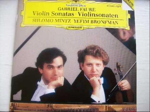 G.U. Fauré | Keman Sonatı No. 1, La Majör, Op. 13
