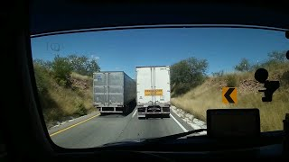 Entrando a Nogales, Sonora. (Las Curvas de Quijano)