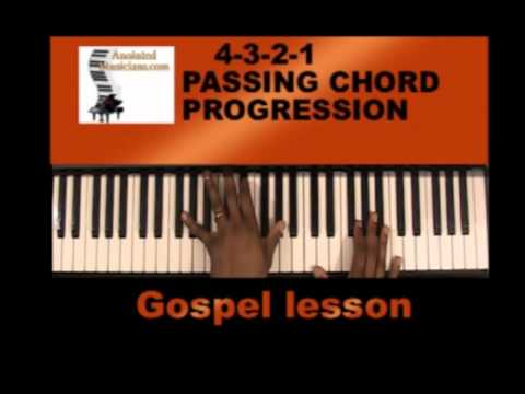 Passing Chords Learn To Play Gospel Chords Youtube