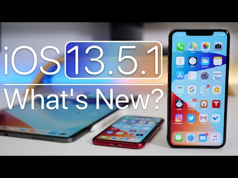 iOS 13.5.1 is Out! – What's New?