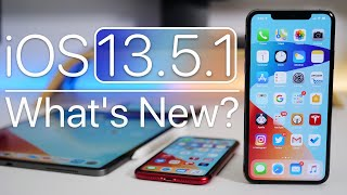 iOS 13.5.1 is Out! - What's New?