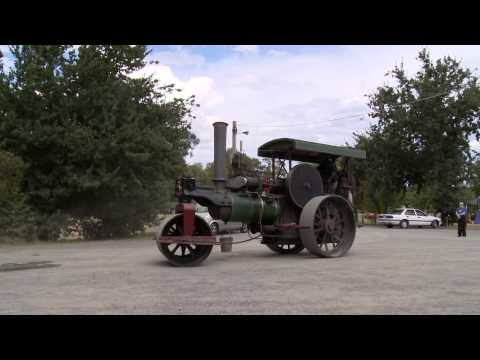 Steam Powered Road Rollers at Healesville Railway Station - CharlieDeanArchives / Archival Footage